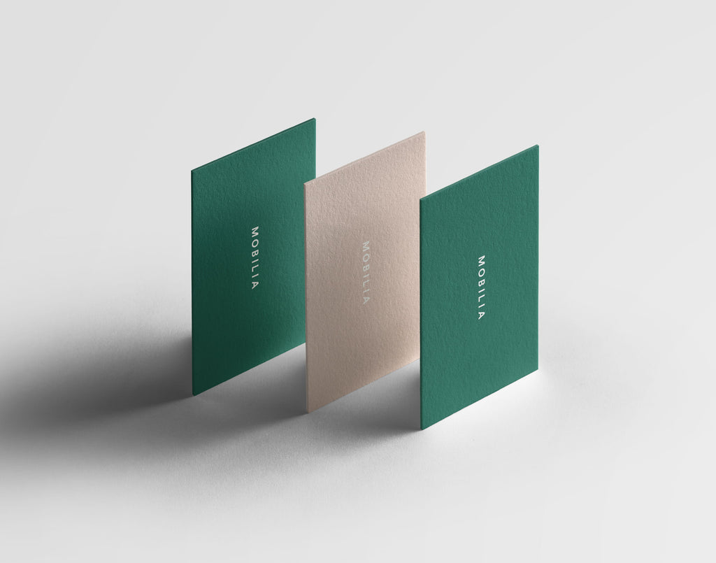 Mobilia minimal branding and design | Caterina Bianchini