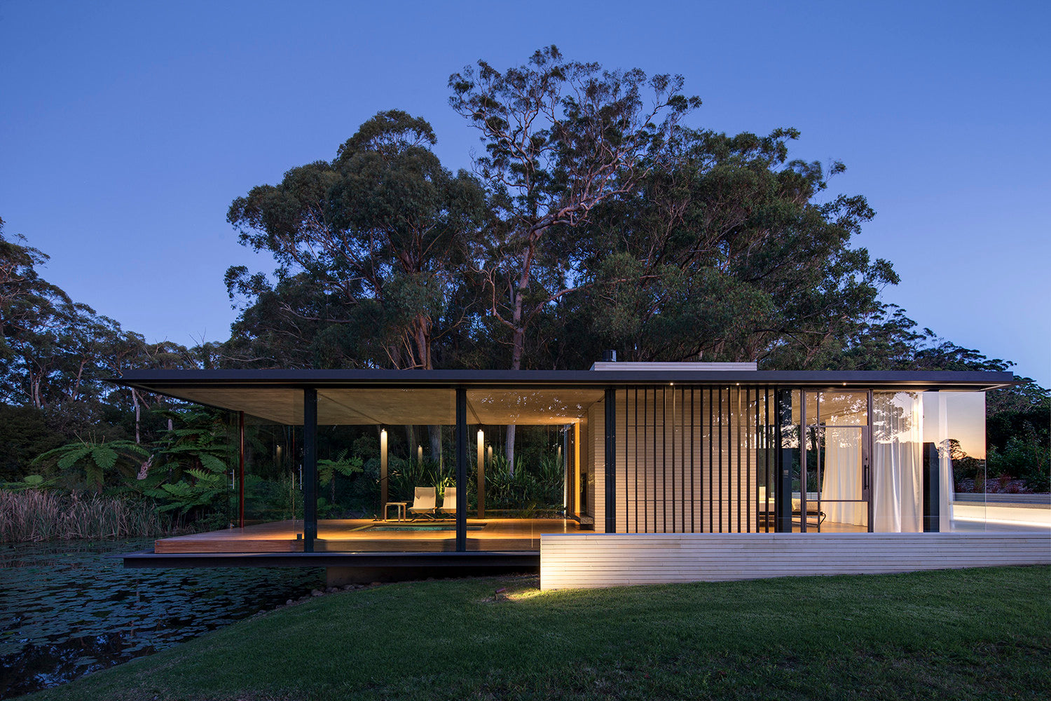 Wirra Willa Pavilion | By Matthew Woodward Architecture