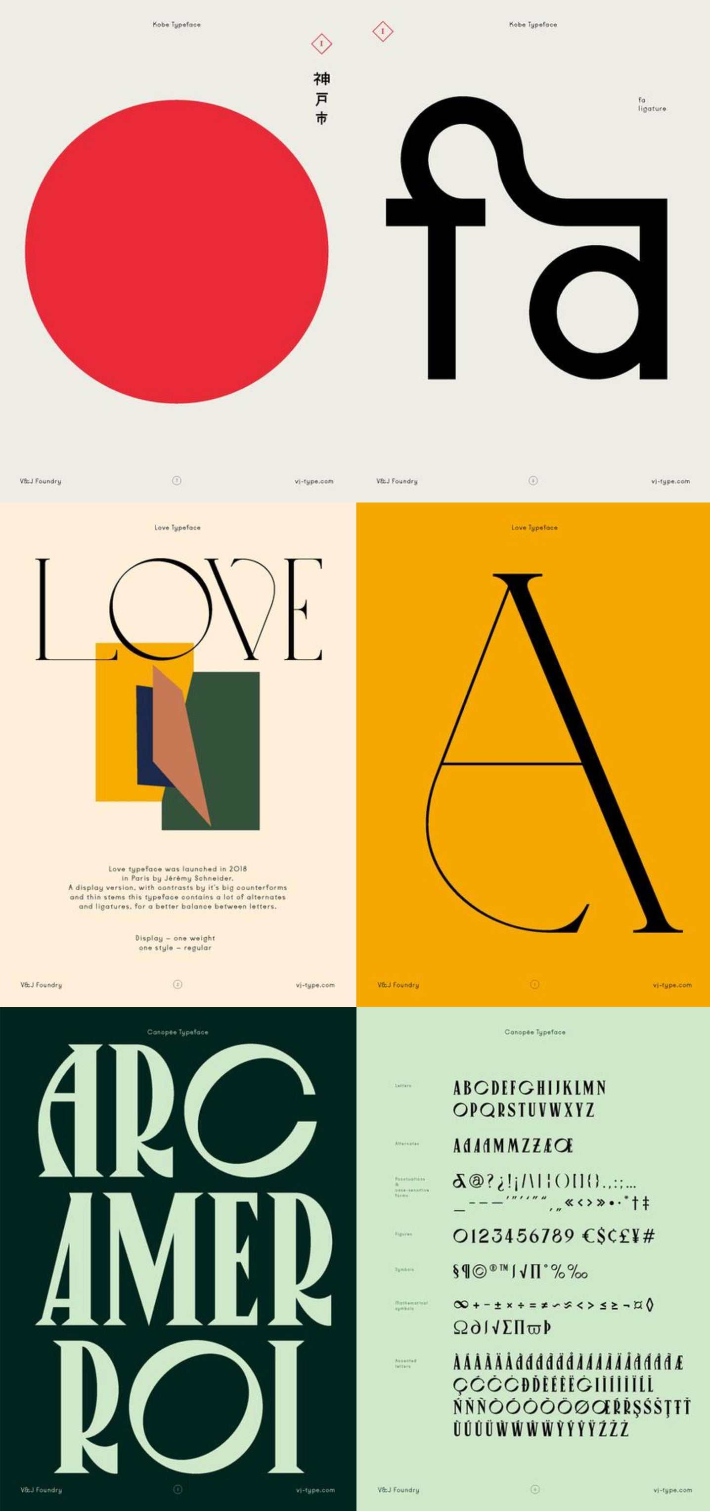Font & Typography Design | By VJ Type Foundry