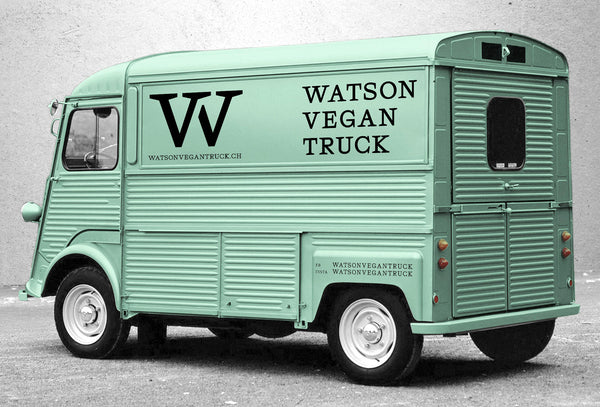 Brand Identity Design for Watson Vegan Truck