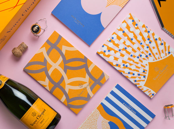 Notebook Design for Veuve Clicquot