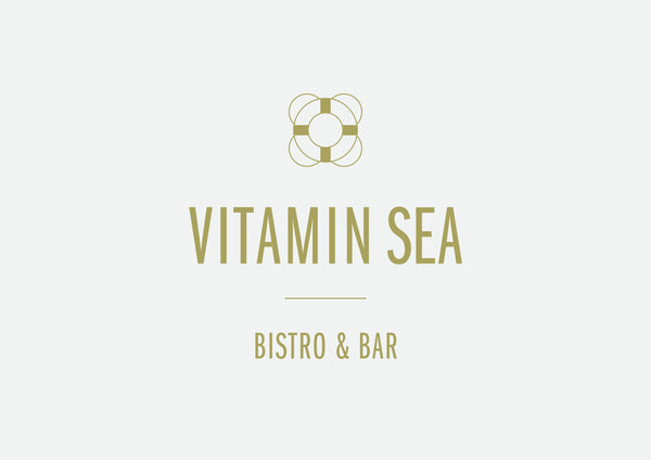 Logo Design for Vitamin Sea Bistro & Bar