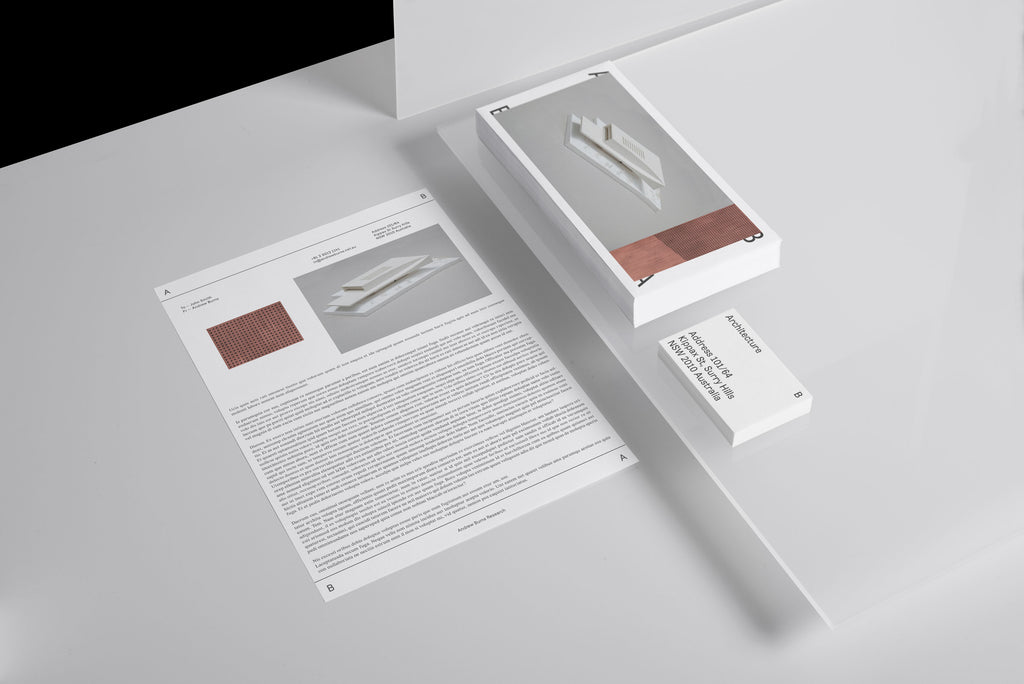 minimal brochure layout | graphic design by SP-GD