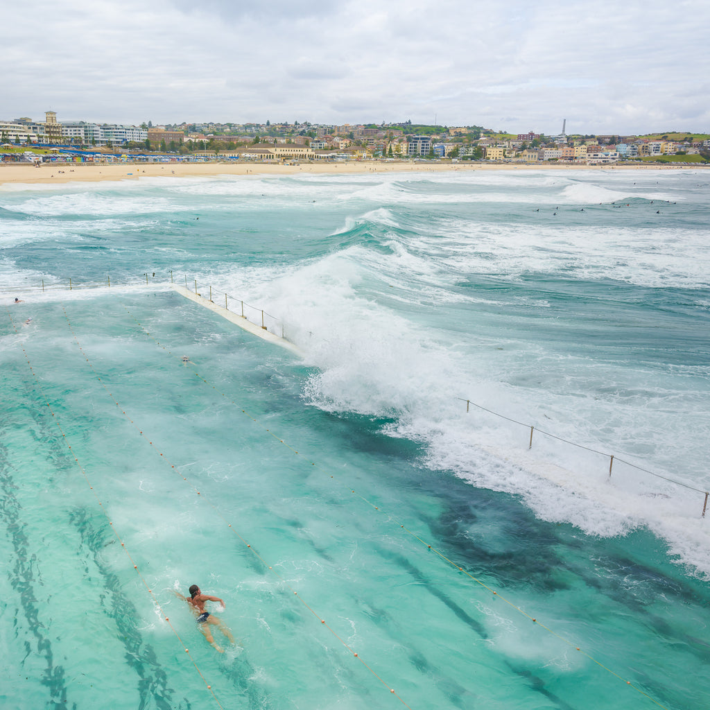 bondi beach photography