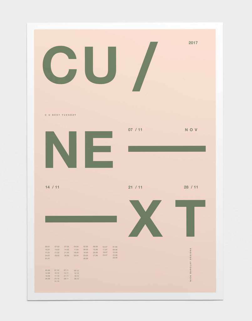 Minimalist Layout | Graphic Design By Nick Barclay