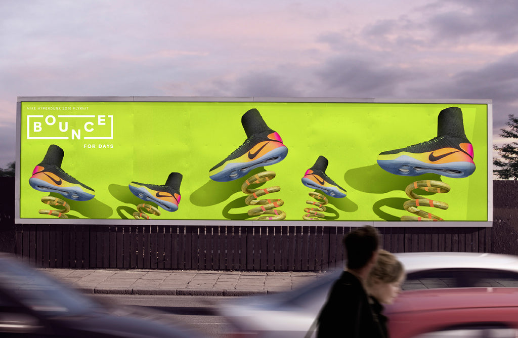 nike bounce advertising