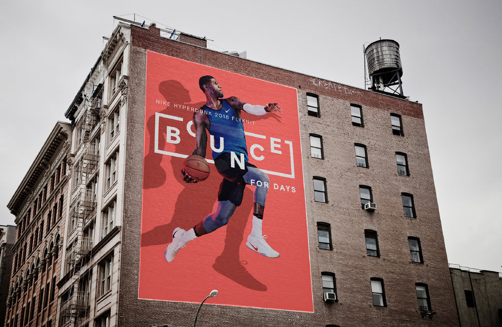 Nike billboard design