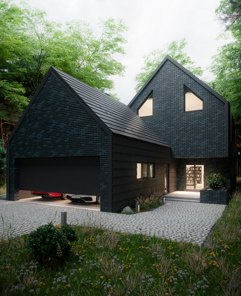 home ideas black exterior