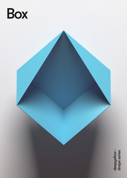 geometric poster concept