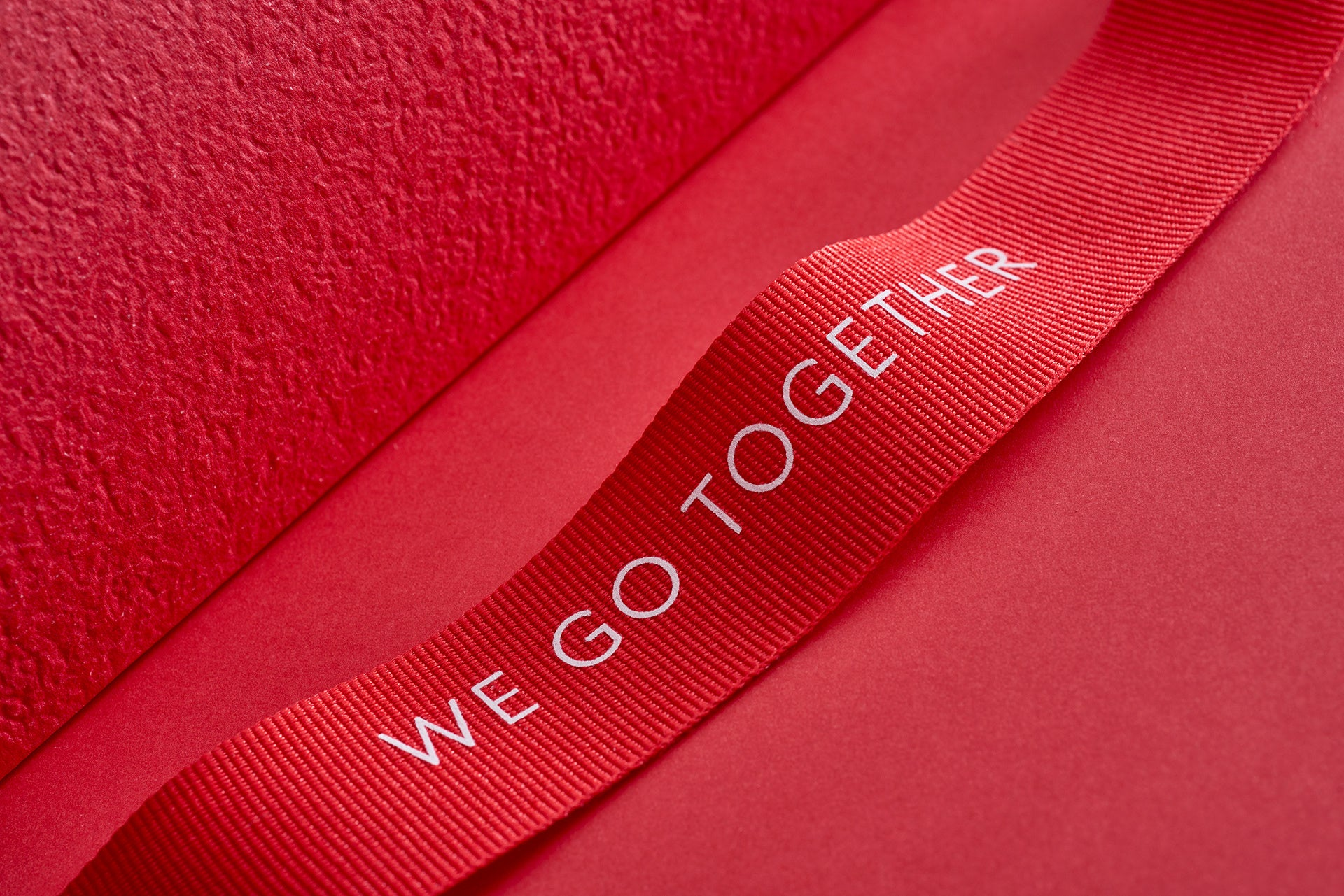 brand identity design ribbon