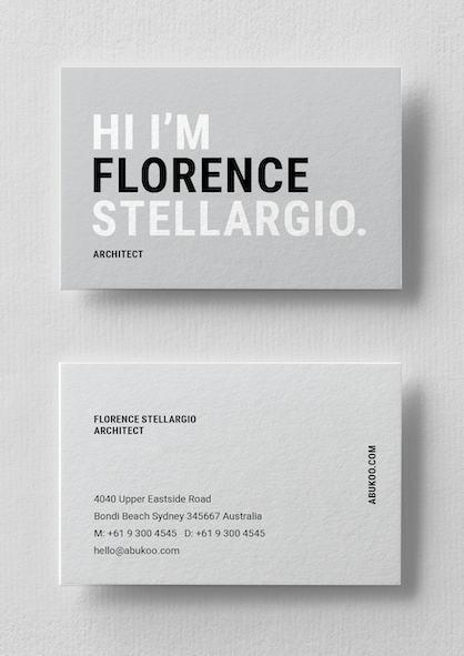Business Card Design - Name Card
