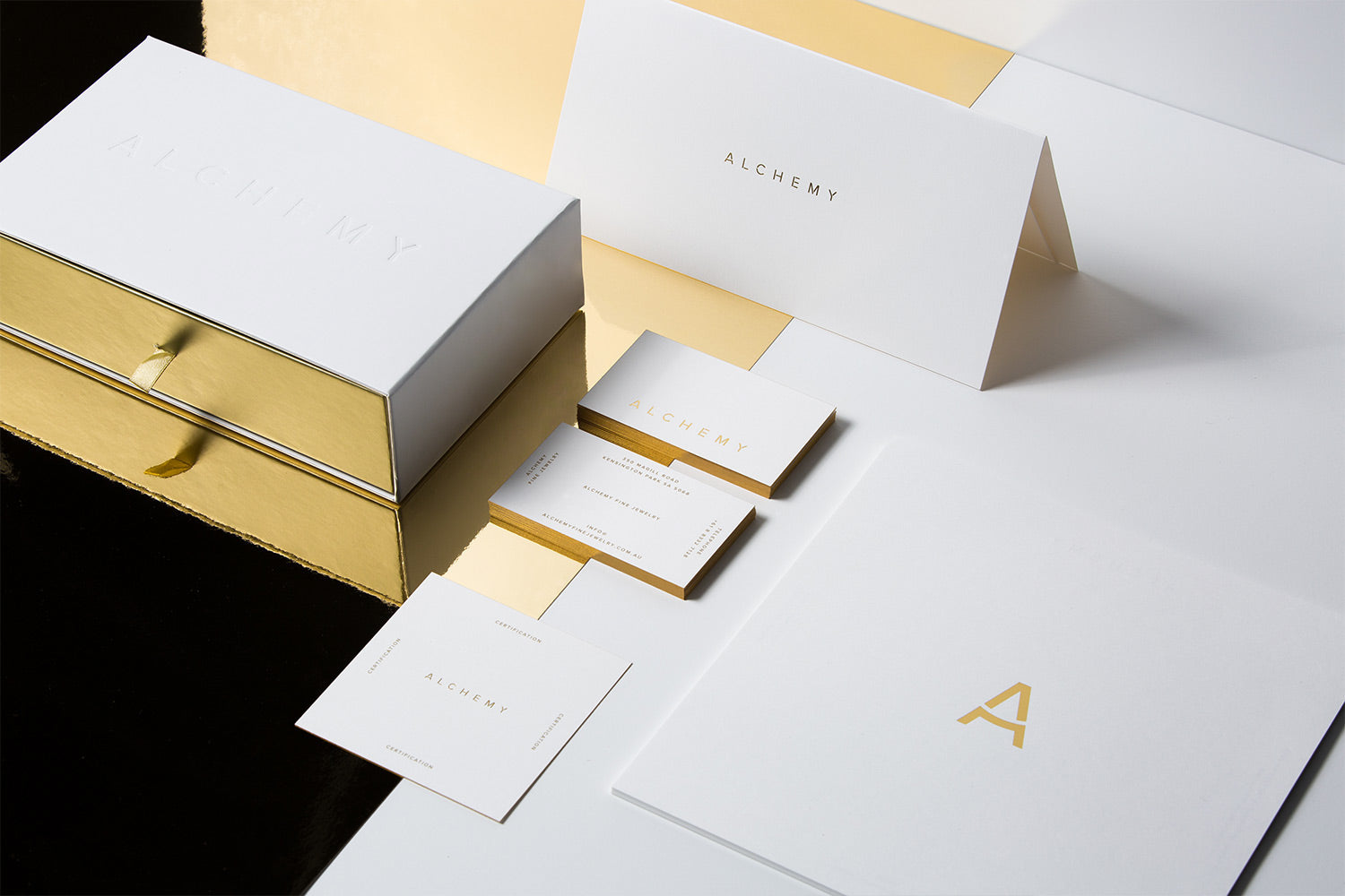 Stationery design and business cards