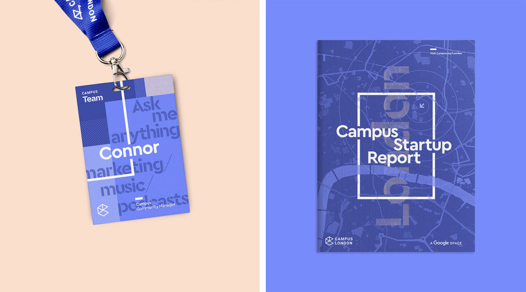 branding design google campus