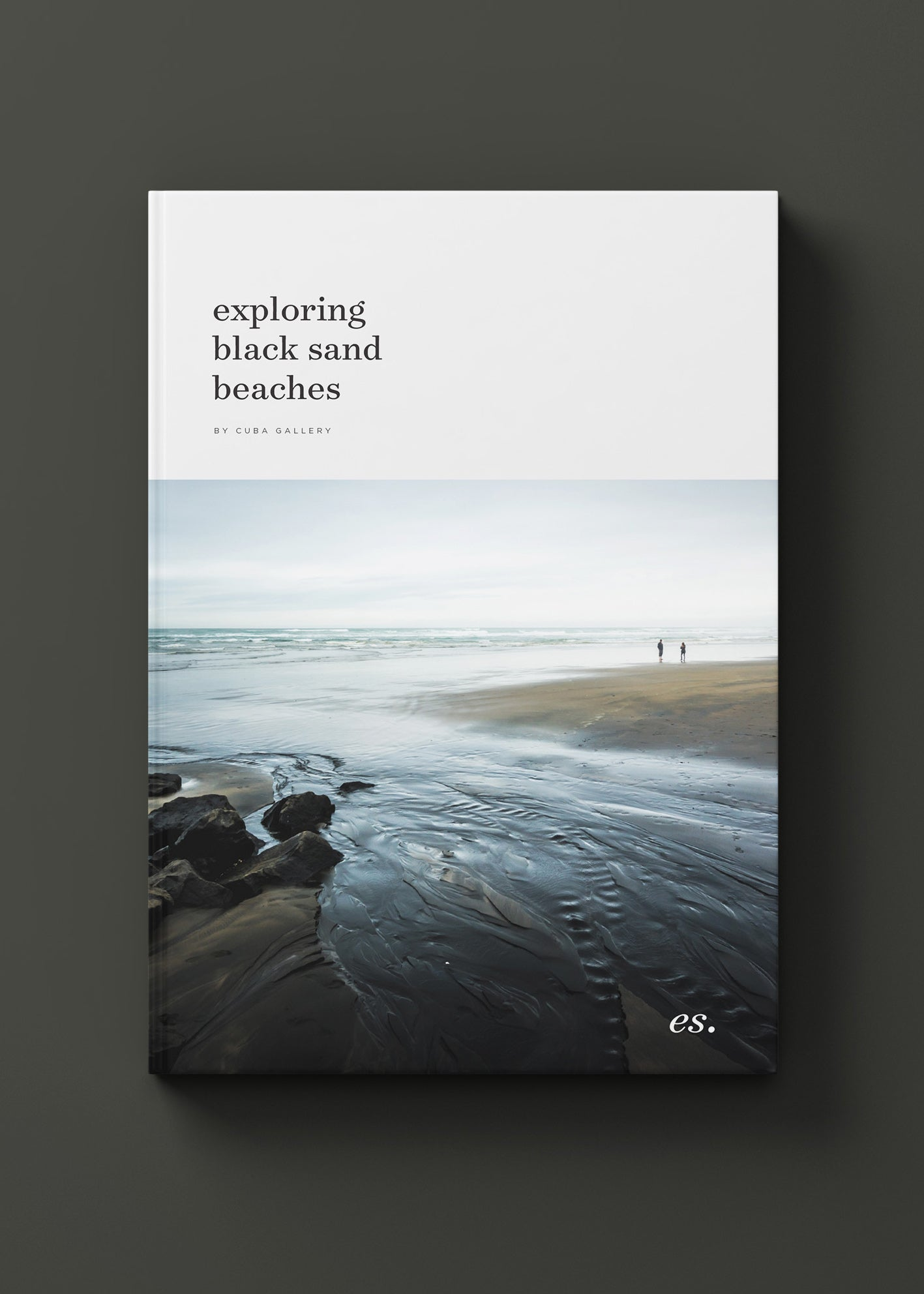 Cover Design for Black Sands