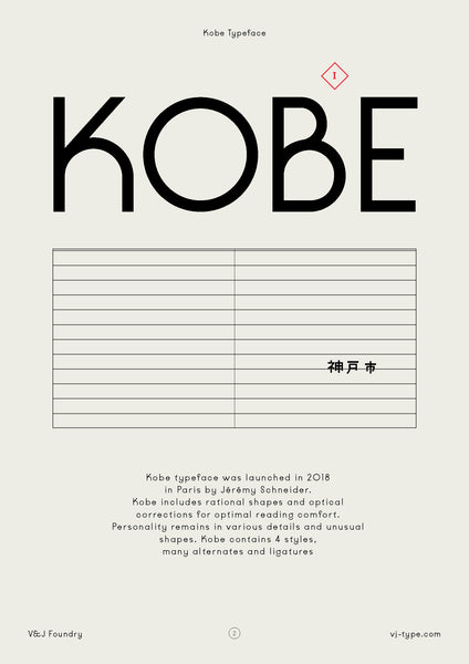 Font & Typography Design | By VJ Type Foundry - Cuba Gallery