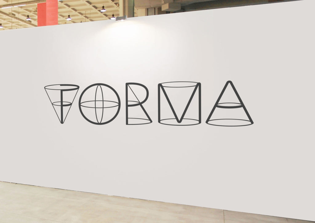 Forma typography exhibition display