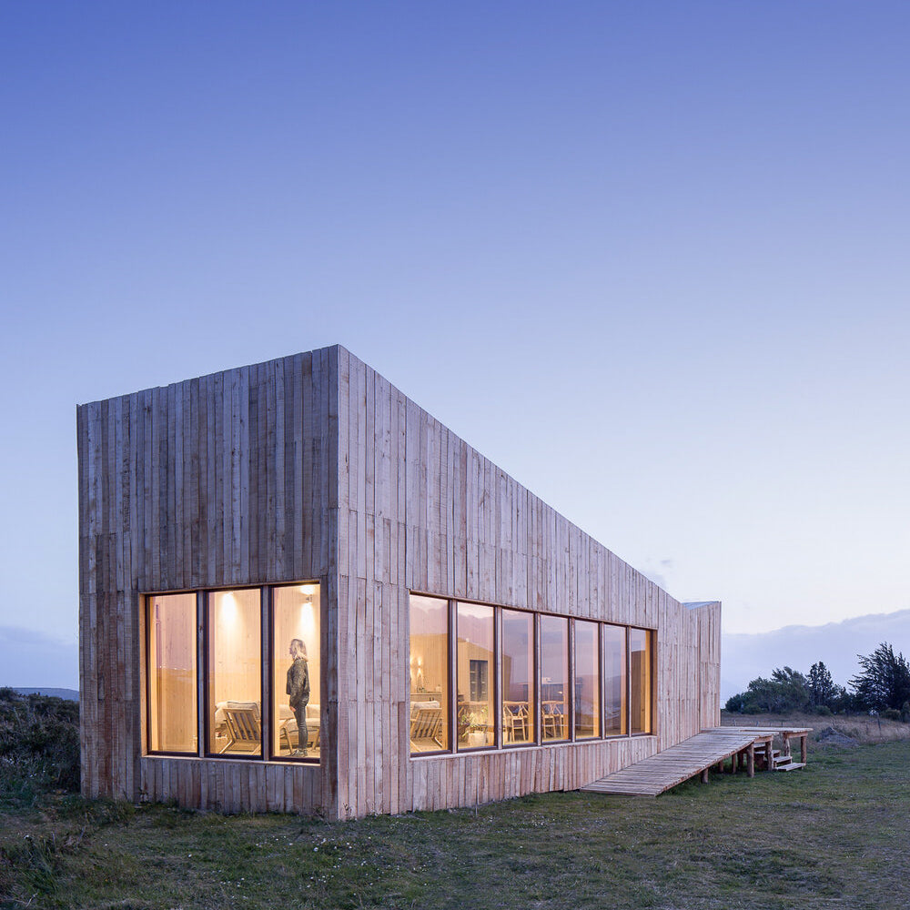 House design | Timber Cladding - Larrou Architecture