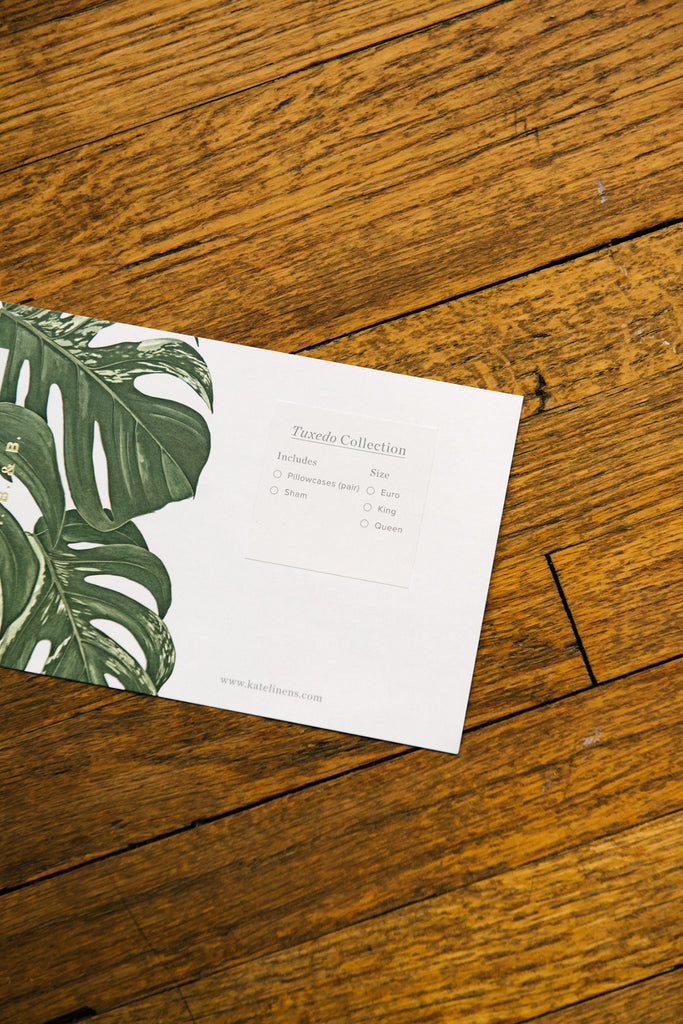 kate stationery design