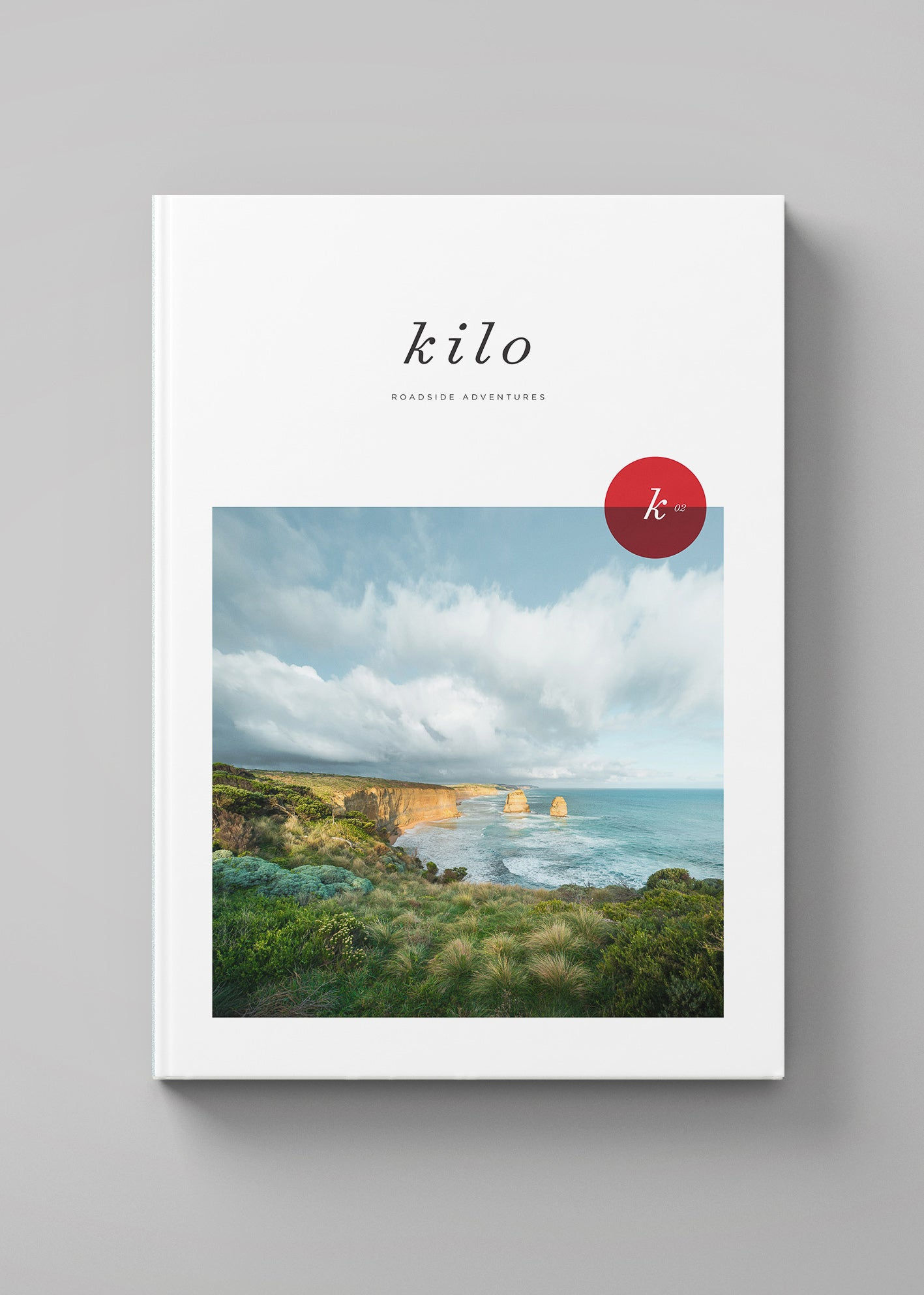 Cover Design for Kilo Travel Book