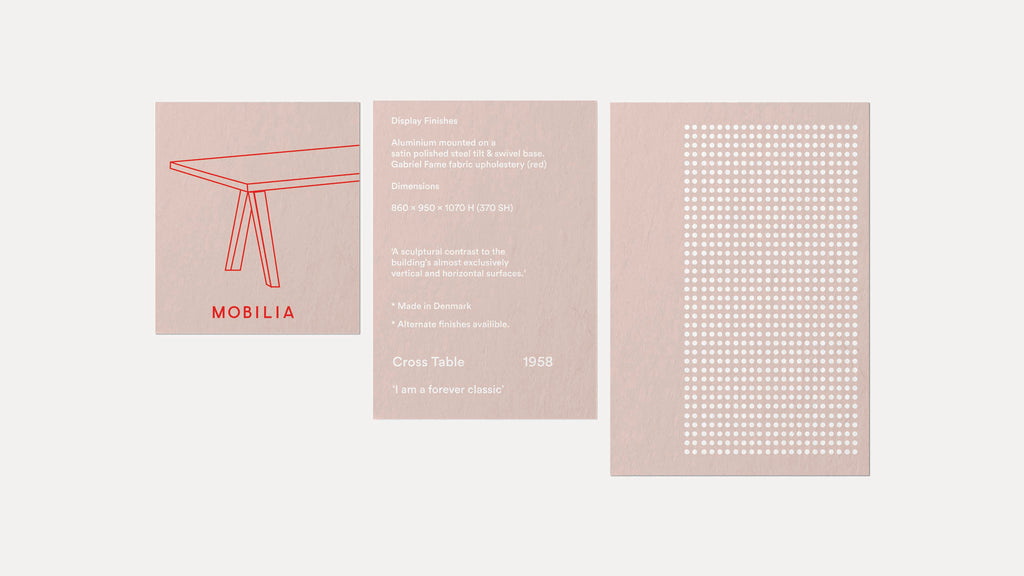 minimal brochure design layout