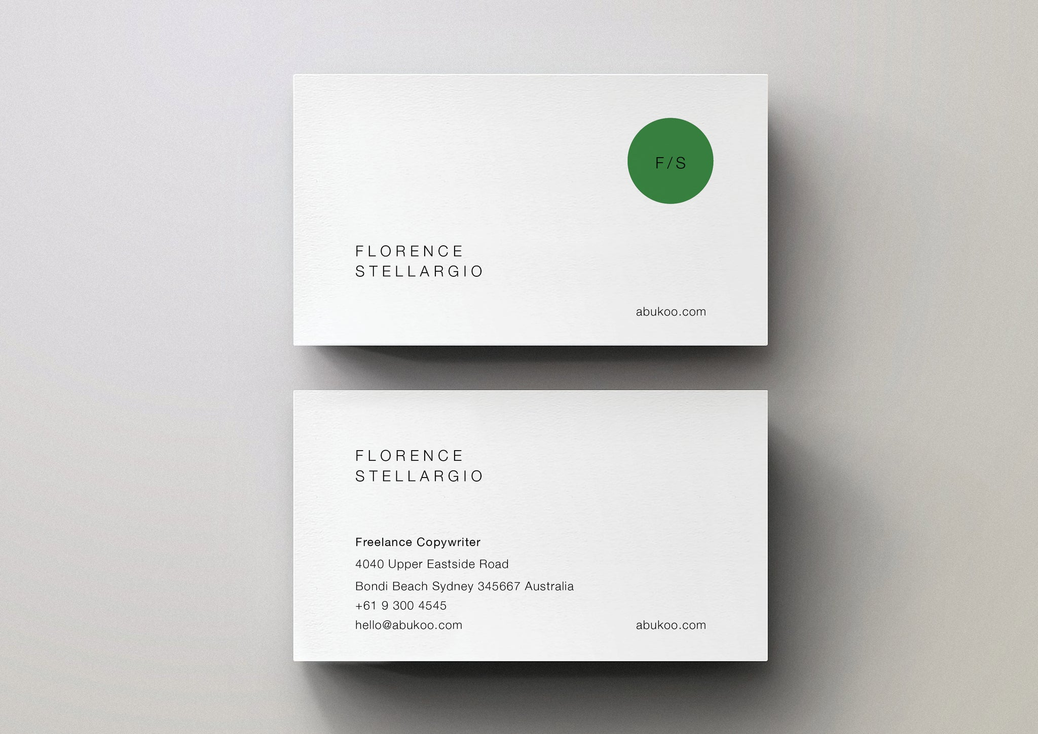 Freelance Business Card Template Gallery - Templates Example Free ...