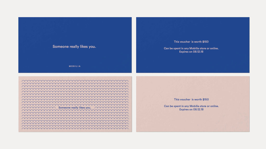 business card designs in blue