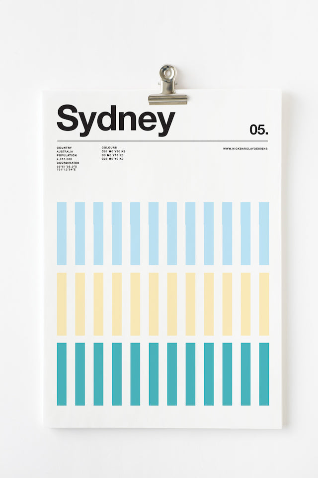 Swiss Graphic Design Poster Layout