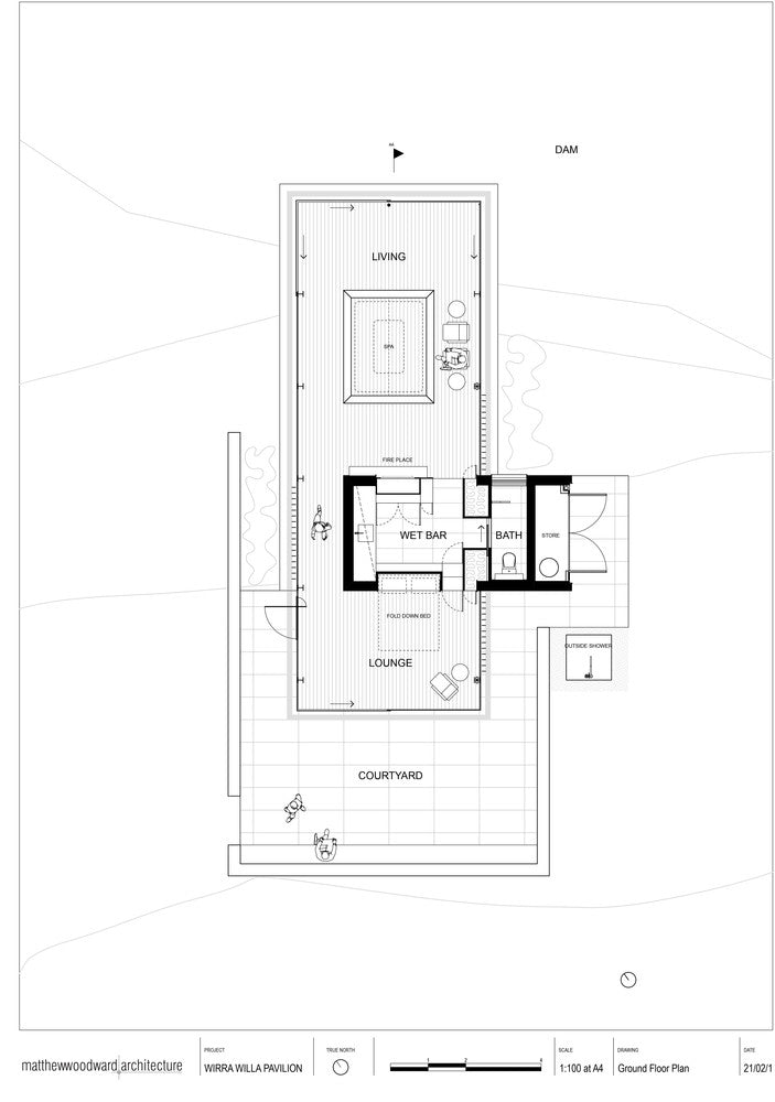 modern architecture wirra willa plan