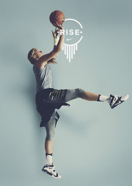 nike photographic design typography