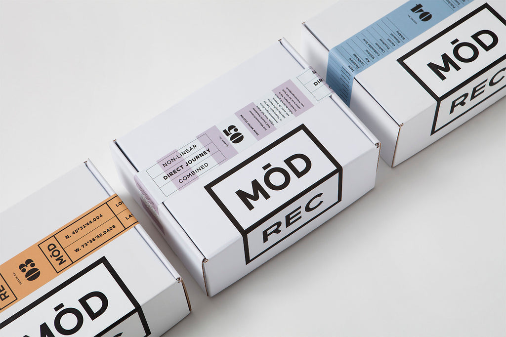 Minimal Typography & Packaging