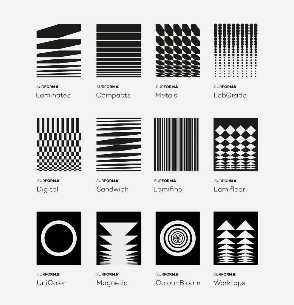 Graphic design patterns