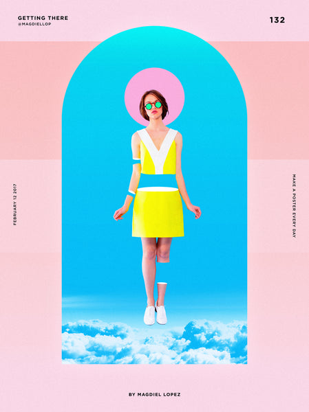 Colourful Layout | By Graphic Designer Magdiel Lopez