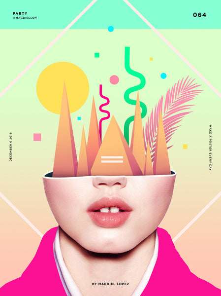 Creative Illustration | By Graphic Designer Magdiel Lopez