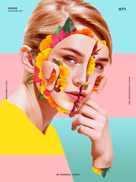 Pastel Graphic Art | People