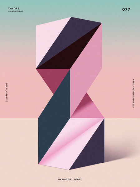 Colourful Geometric Layout
