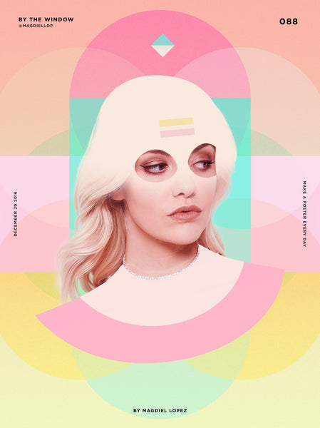 Colourful Pastel Layout