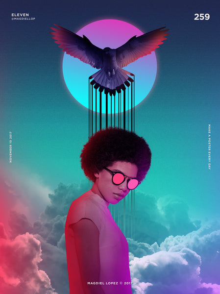 Colourful People | By Graphic Designer Magdiel Lopez