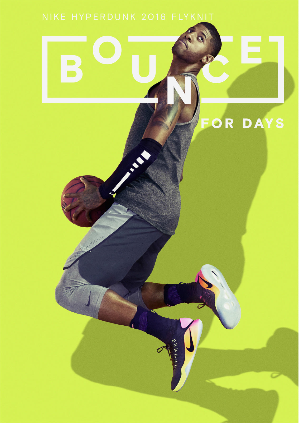 poster design layout nike