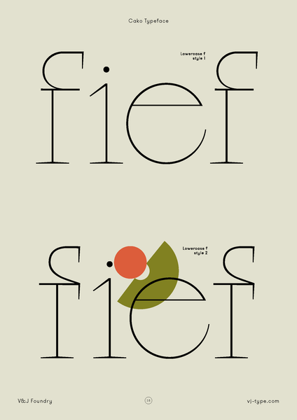 Graphic Design | Font By VJ Type