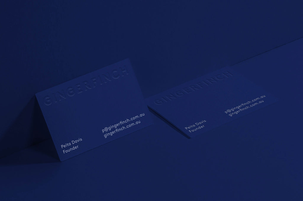 Business card | Print techniques emboss