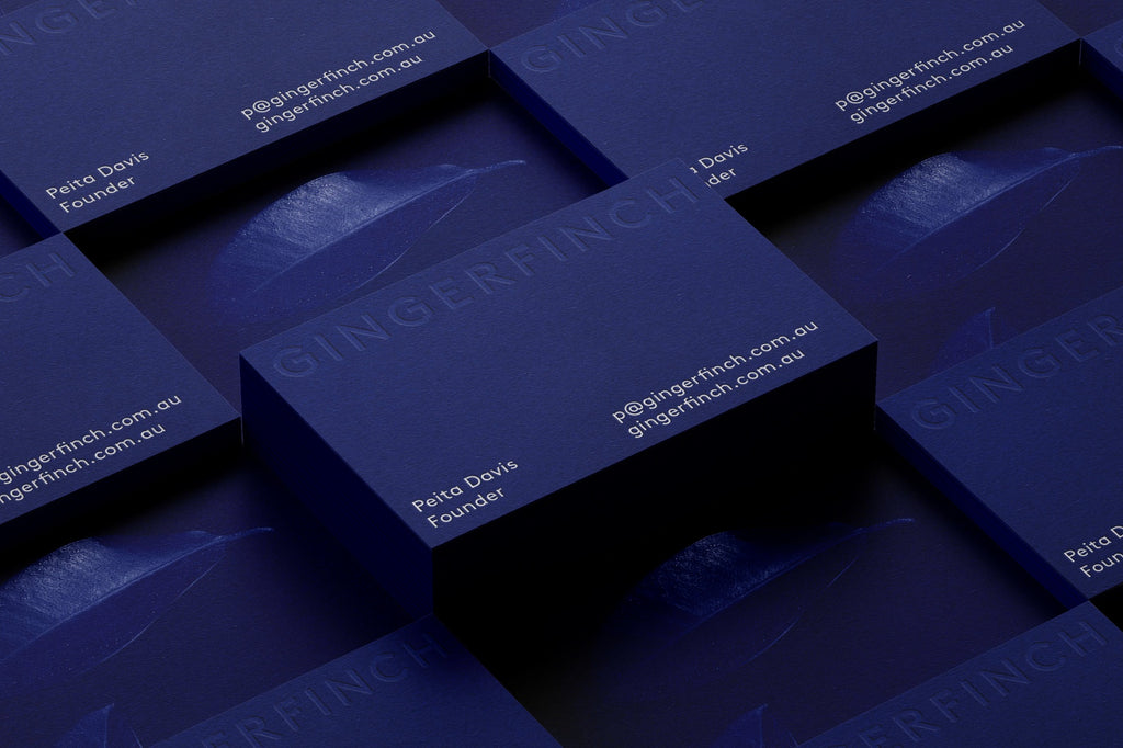 Minimal business card ideas | Graphic design by SP-GD