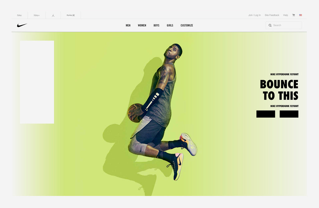 website design nike