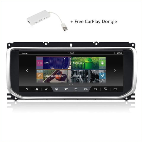 10.25 Android Range Rover Incontrol Pro Upgrade For Sport Vogue And Evoque Car