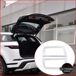 2 Style Abs Chrome Rear Trunk Handle Frame Cover Trim For Range Rover Evoque L5512019-2020 Car
