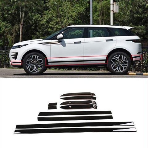 Abs Plastic Car Door Side Body Molding Cover Trim For Range Rover Evoque L551 2019-2020 Car