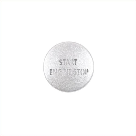 Alloy Car Engine Start Stop Button Cover Sticker For Land Rover Discovery 4 2010-16 Range Sport