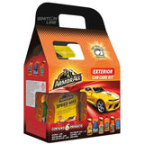 ArmorAll Car Valet Kit Exterior includes 6 products, car care cleaning
