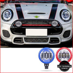 Car Led Headlight Exterior Trim Spotlight Daytime Running Light Styling Accessories For Mini Cooper