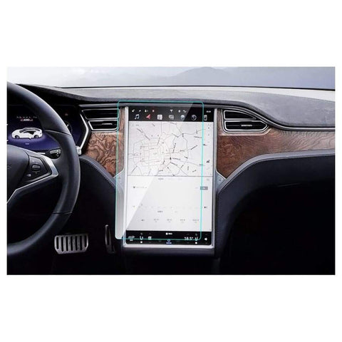 Car Styling Dashboard Paint Protective Tpu Film For Tesla Model 3 S X Gps Screen Internal