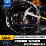 Car Tachometer Speedometer Gps Display Screen Tempered Protective Film Protector For Mini Cooper F54